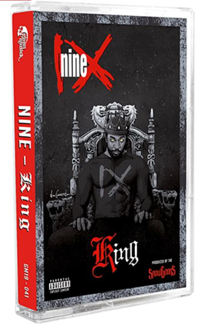 Nine - King [Red] [Cassette Tape]-Goon MuSick-Dig Around Records