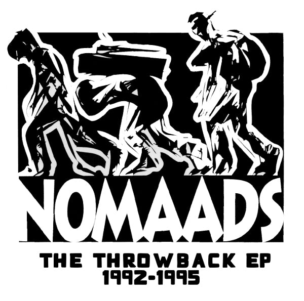 Nomaads - The Throwback [CD]-Chopped Herring Records-Dig Around Records