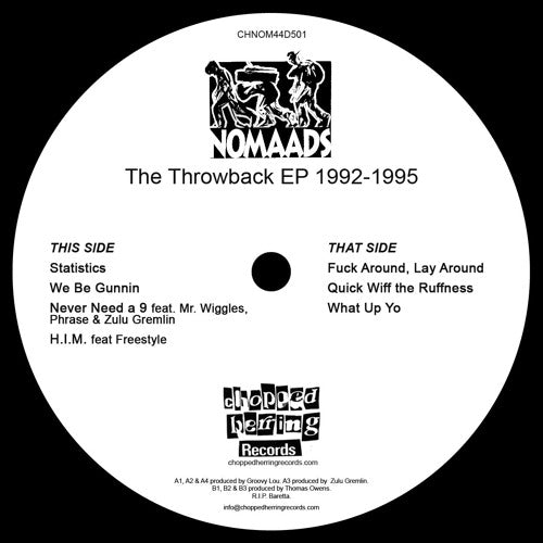 "Nomaads - The Throwback EP 1992-1995 [Vinyl Record / 12""]-Chopped Herring Records-Dig Around Records"