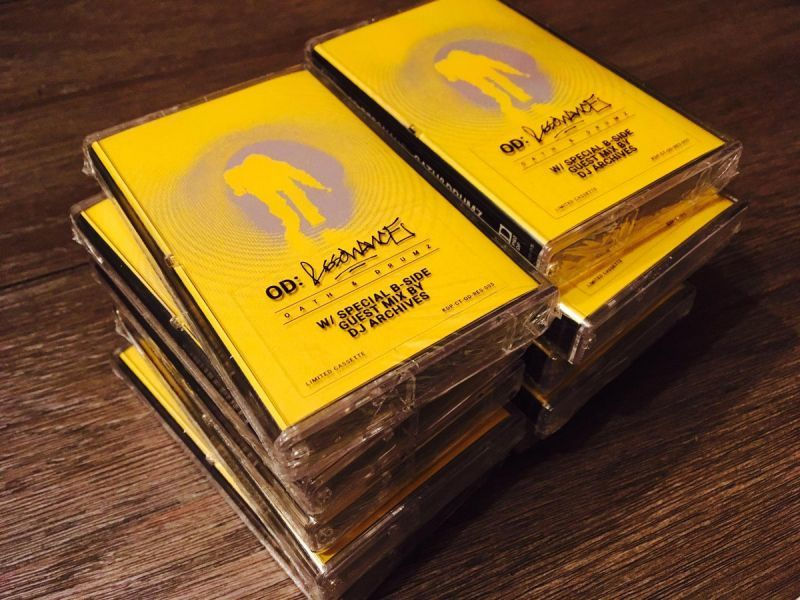 OD - Resonance [Cassette Tape + Card + DL Code]-KicDrum Products-Dig Around Records