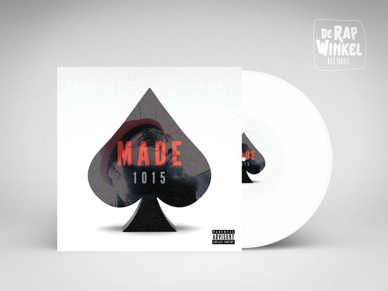 P.U.R.E. - Made 1015 [White] [Vinyl Record / LP]-de Rap Winkel Records-Dig Around Records