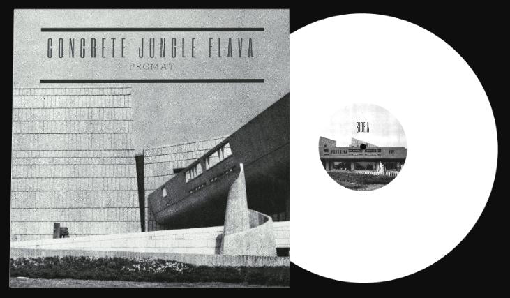 PRGMAT - CONCRETE JUNGLE FLAVA [White] [Vinyl Record / LP]-Not On Label-Dig Around Records