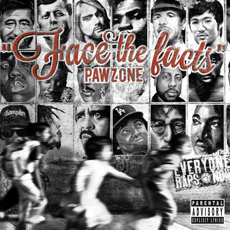 Pawz One - Face The Facts [CD]-Below System Records-Dig Around Records