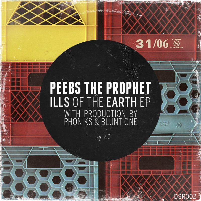 Peebs The Prophet - Ills of the Earth EP [CD]-Don't Sleep Records-Dig Around Records