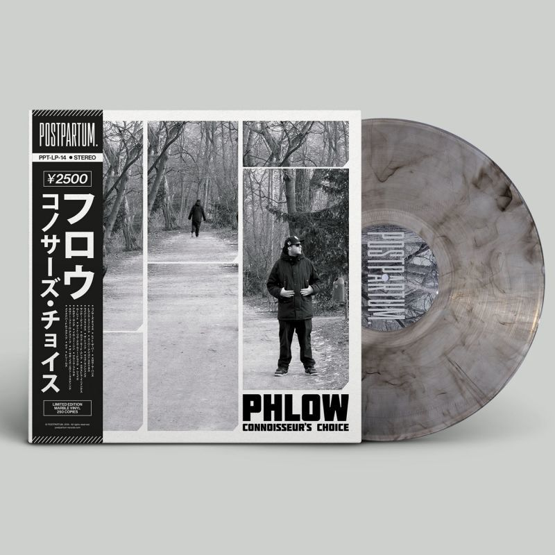Phlow - Connoisseur's Choice [Marble] [Vinyl Record / LP + Download Code + Obi Strip]-POSTPARTUM. RECORDS-Dig Around Records
