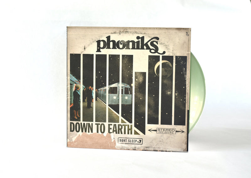 "Phoniks - Down To Earth [Repress] [Clear Green] [Vinyl Record / 12""]"