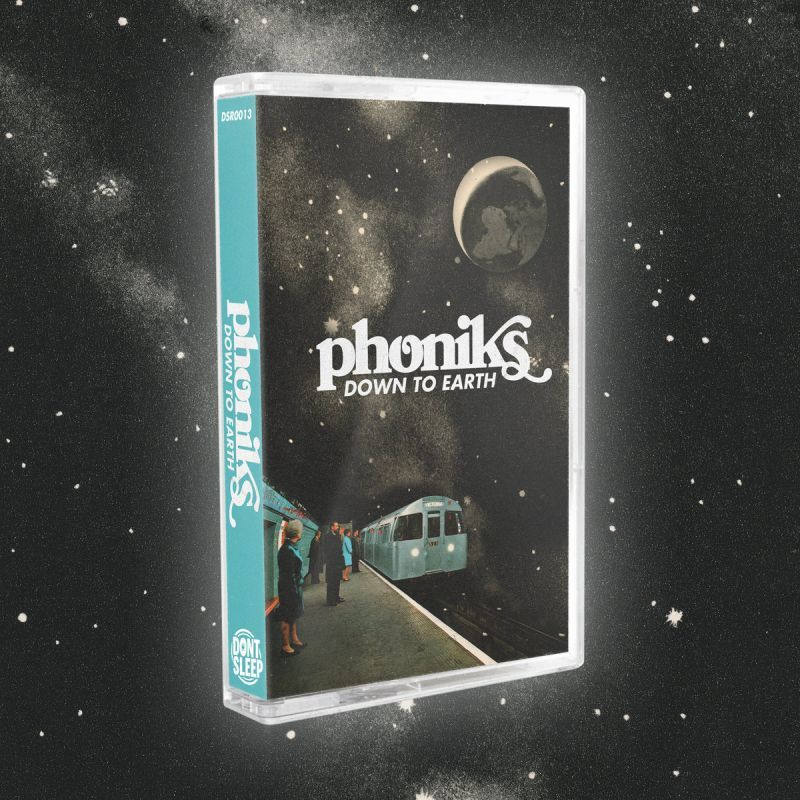 Phoniks - Down To Earth [Cassette Tape]-Don't Sleep Records-Dig Around Records
