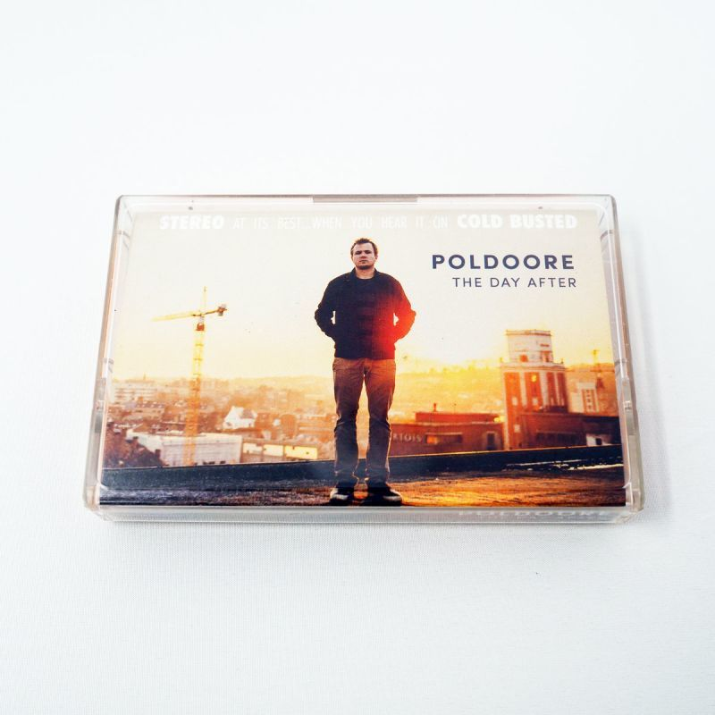 Poldoore - The Day After [Cassette Tape]-Cold Busted Records-Dig Around Records