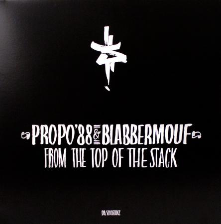 Propo'88 & Blabbermouf - From The Top Of The Stack [Vinyl Record / LP] - Dig Around Records