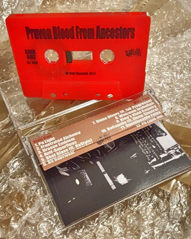 Pruven - Blood From Ancestors [Red] [Cassette Tape]-Ill Catz Records-Dig Around Records