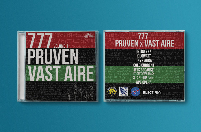 Pruven & Vast Aire - 777 [CD]