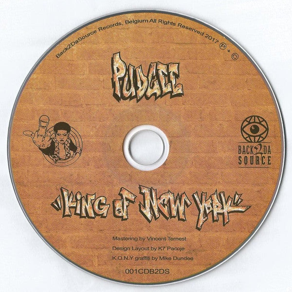 Pudgee - King Of New York [CD]-Back 2 Da Source Records-Dig Around Records