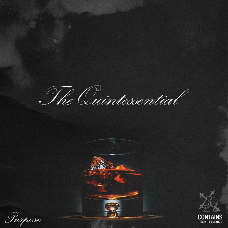 Purpose & B.B.Z. Darney - The Quintessential [CD + Autographed & Hand Numbered + Tragic Allies satin bag]-Tragic Allies Productions-Dig Around Records