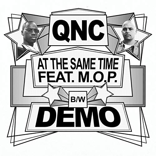 "QNC - At The Same Time / Demo [Black] [Vinyl Record / 7""]-ILL ADRENALINE RECORDS-Dig Around Records"