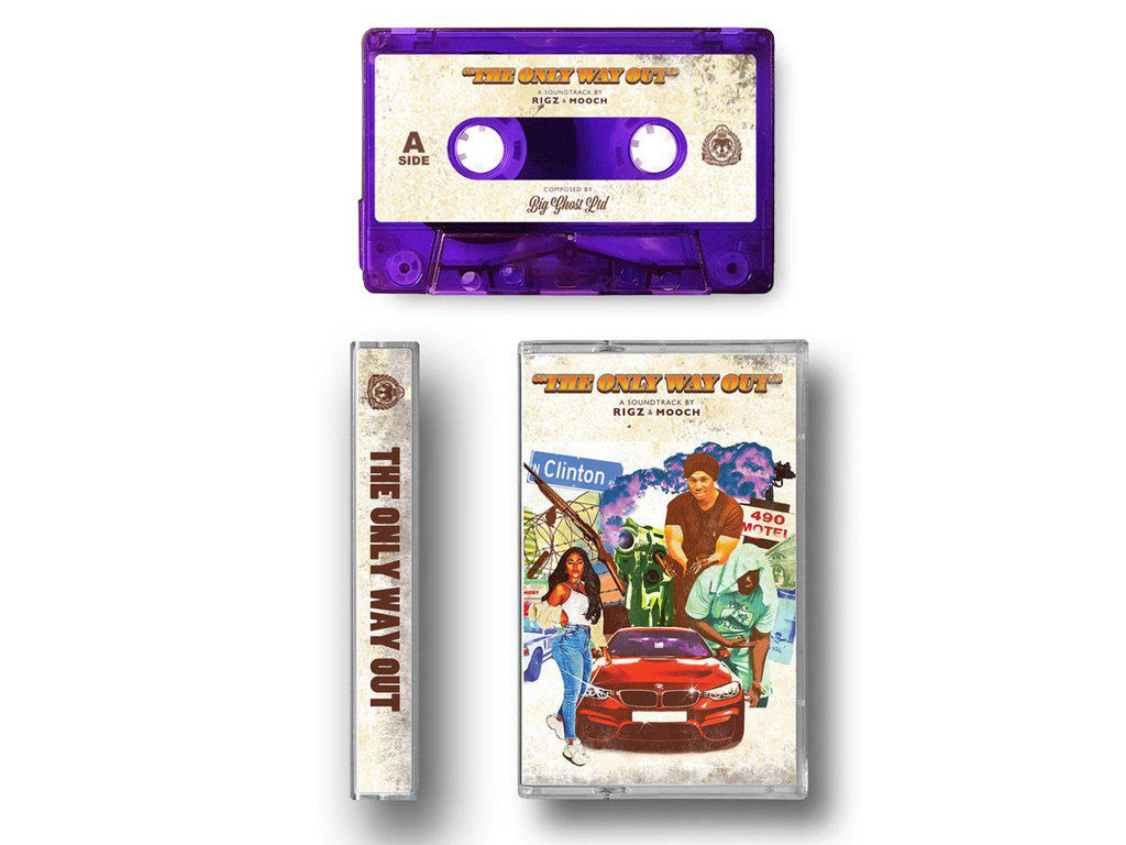 RIGZ AND MOOCH - THE ONLY WAY OUT [Cassette Tape] - Dig Around Records