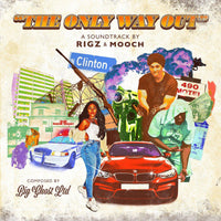 RIGZ AND MOOCH - THE ONLY WAY OUT [CD] - Dig Around Records