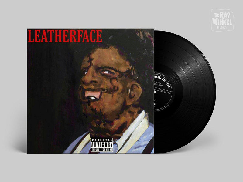 RJ Payne - Leatherface [Black] [Vinyl Record / LP]-de Rap Winkel Records-Dig Around Records