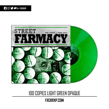 ROME STREETZ & FARMA BEATS - Street Farmacy [Green] [Vinyl Record / LP]