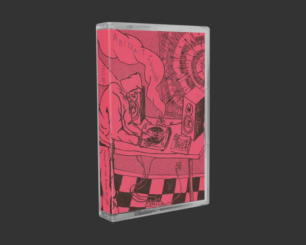 Rak. & Chavo - Abstract Fusion [Disco Pink] [Cassette Tape + Download Code] - Dig Around Records