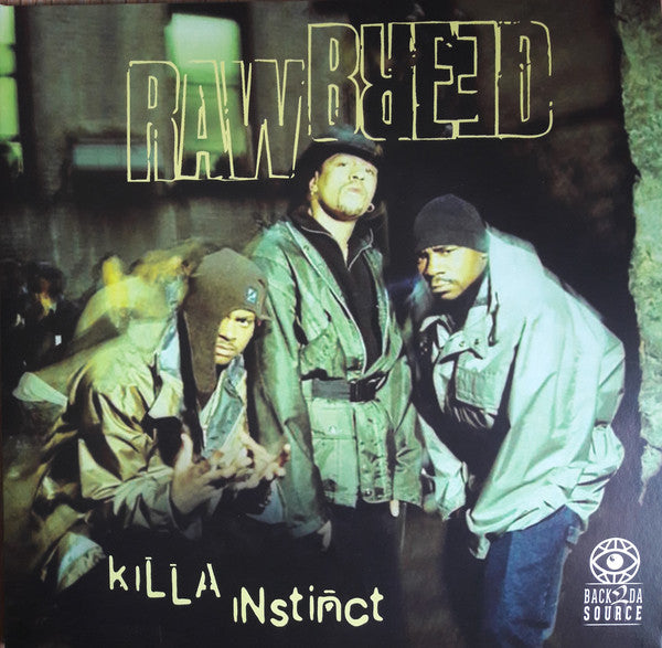 Raw Breed - Killa Instinct [Vinyl Record / 2 x LP]-Back 2 Da Source Records-Dig Around Records