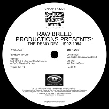 "Raw Breed – The Demo Deal [Vinyl Record / 12""]"