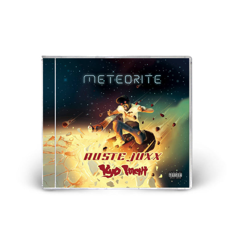 Ruste Juxx & Kyo Itachi - Meteorite [CD]-Shinigamie Records-Dig Around Records