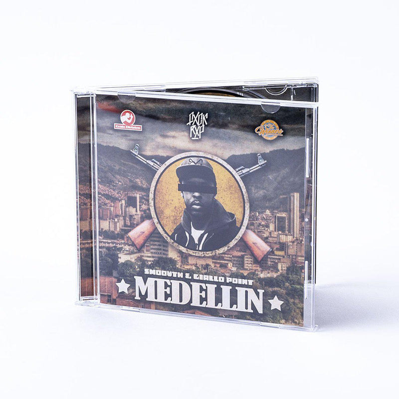 SMOOVTH & GIALLO POINT - Medellin [CD]-FXCK RXP-Dig Around Records