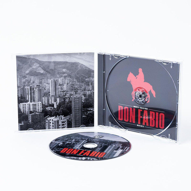 SMOOVTH & GIALLO POINT - Medellin II [CD]-FXCK RXP-Dig Around Records