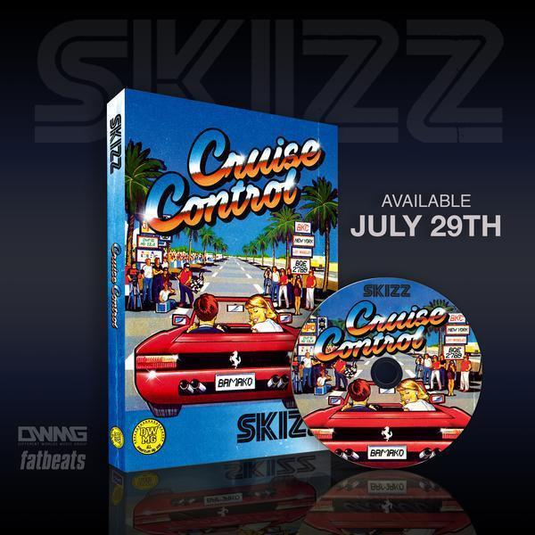 Skizz - Cruise Control [CD]-Gawd of Math Music / Different Worlds Music Group-Dig Around Records