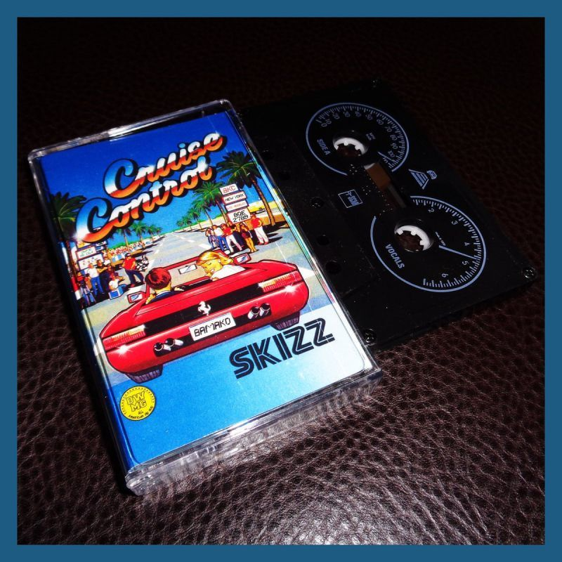 Skizz - Cruise Control [Cassette Tape]-Gawd of Math Music / Different Worlds Music Group-Dig Around Records