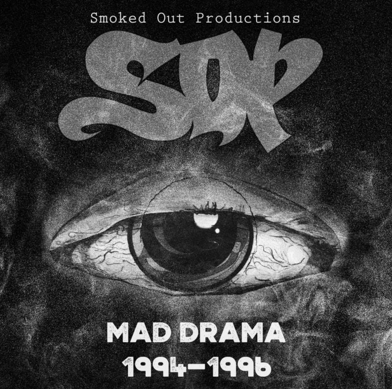 Smoked Out Productions - Mad Drama 94-96 [CD]-Chopped Herring Records-Dig Around Records