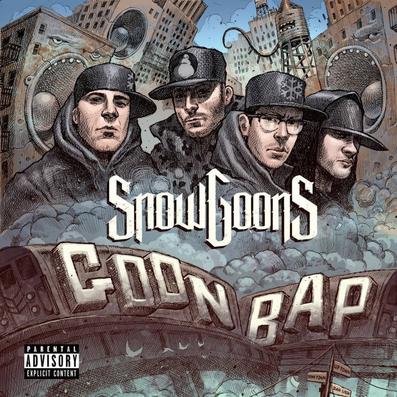 Snowgoons - Goon Bap [CD]-Goon MuSick-Dig Around Records