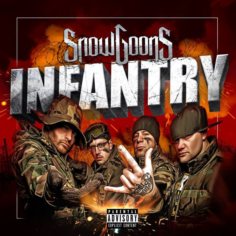 Snowgoons - Snowgoons Infantry [CD]-Goon MuSick-Dig Around Records