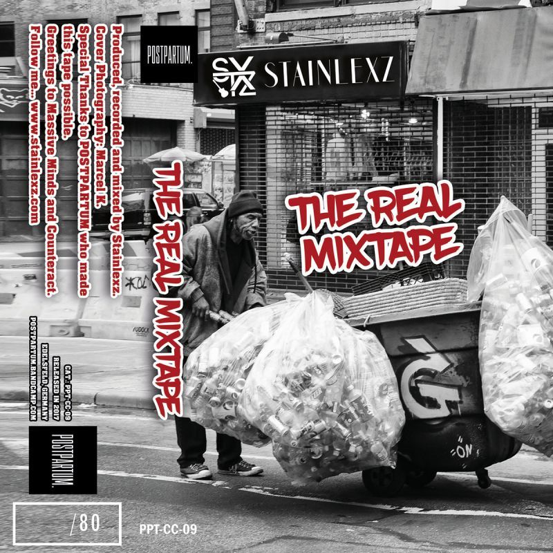Stainlexz - The Real Mixtape [Cassette Tape + Sticker]-POSTPARTUM. RECORDS-Dig Around Records