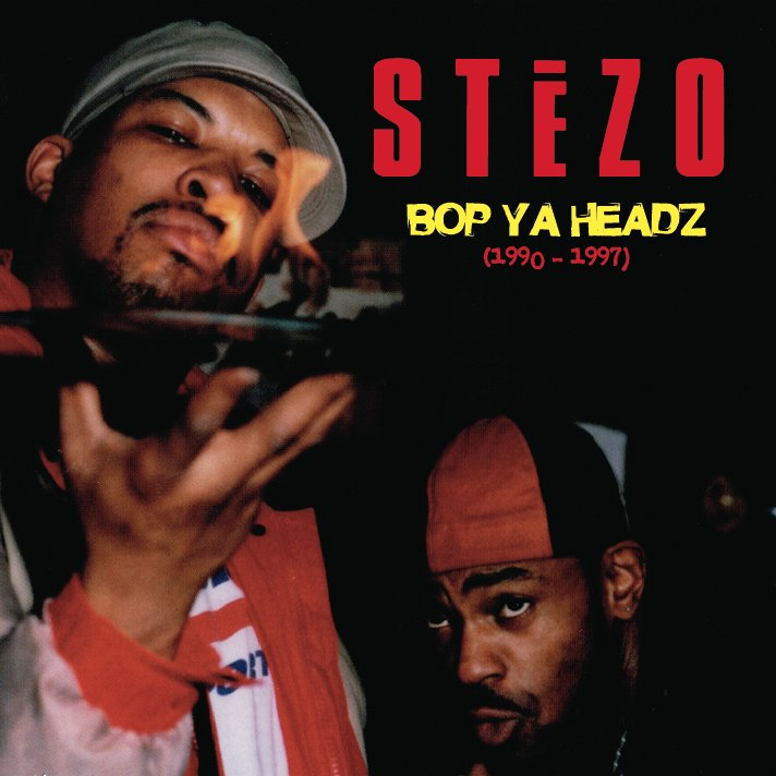 Stezo - Bop Ya Headz [CD]-Gentleman's Relief Records-Dig Around Records