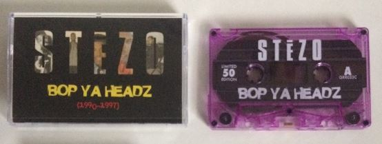 Stezo - Bop Ya Headz [Cassette Tape]-Gentleman's Relief Records-Dig Around Records