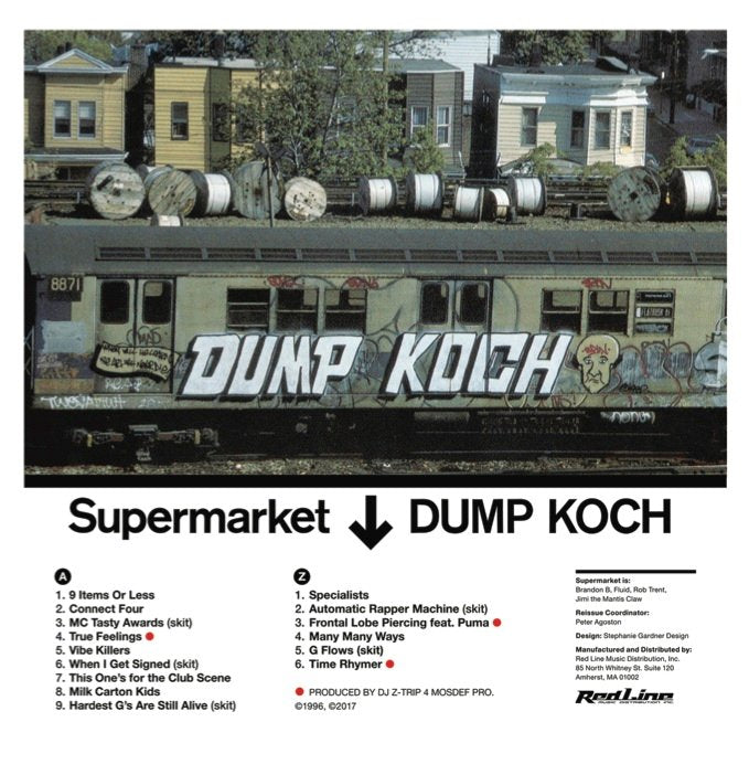 Supermarket - Dump Koch [Cassette Tape]-Female Fun Records-Dig Around Records