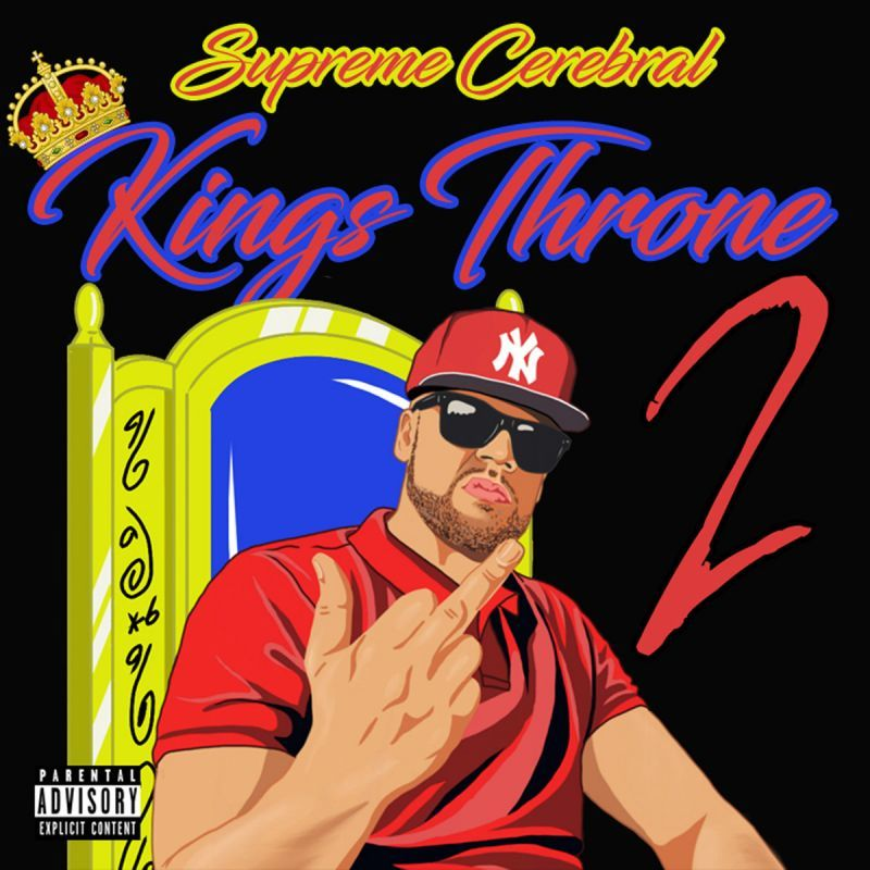 Supreme Cerebral - Kings Throne 2: The Crown Holder [CD] - Dig Around Records