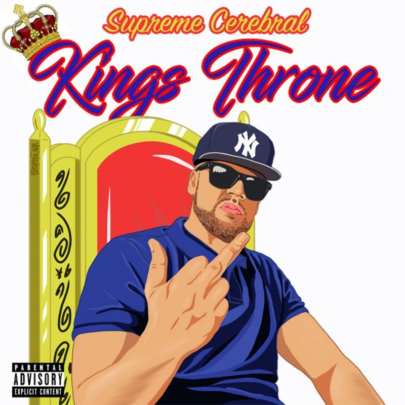 Supreme Cerebral - Kings Throne [CD] - Dig Around Records