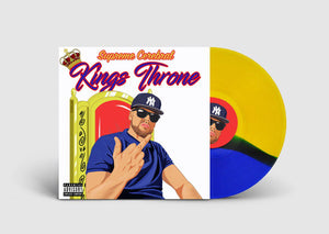 Supreme Cerebral - Kings Throne [Red & Yellow & Royal Blue] [Vinyl Record / LP] - Dig Around Records