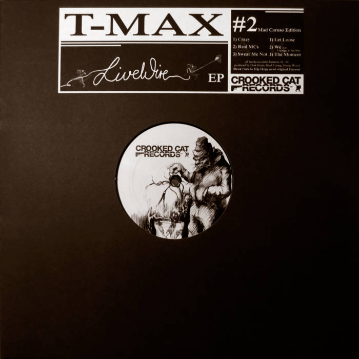 "T-Max - Live Wire EP [Vinyl Record / 12""]-Crooked Cat Records-Dig Around Records"