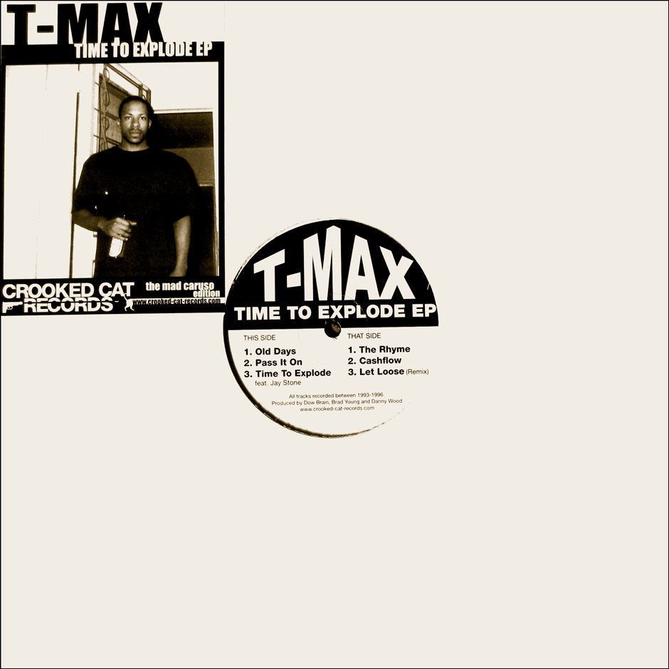 "T-MAX - Time To Explode EP [Vinyl Record / 12""] - Dig Around Records"