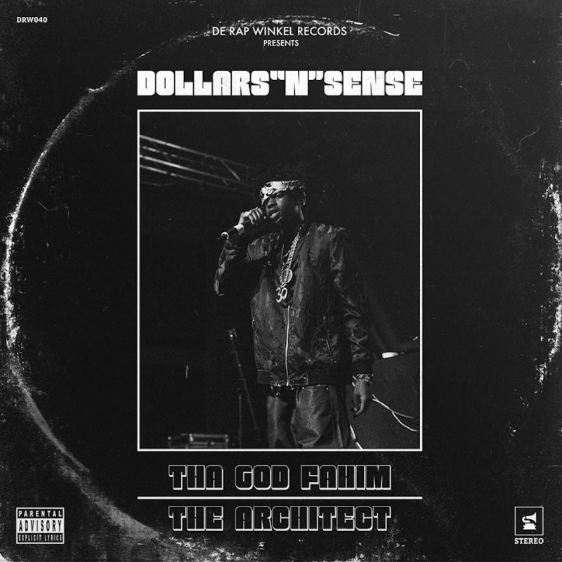 Tha God Fahim x The Architect - Dollars N Sense [Black] [Vinyl Record / LP] - Dig Around Records