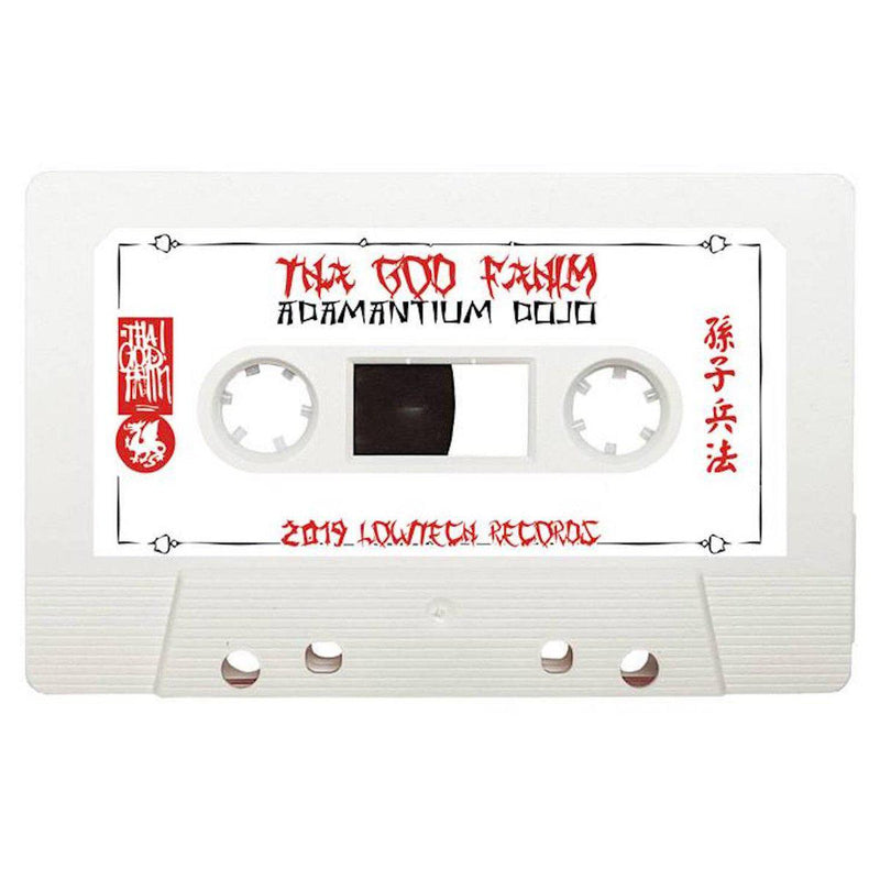 Tha God Fahim - Adamantium Dojo [Cassette Tape + Obi]-Lowtechrecords-Dig Around Records
