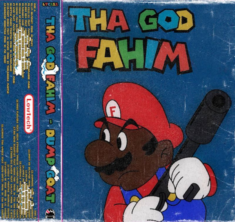 Tha God Fahim - DUMP GOAT [Cassette Tape]-Lowtechrecords-Dig Around Records
