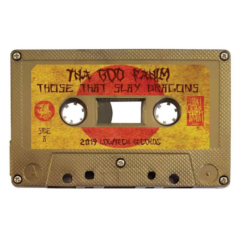 Tha God Fahim - Those That Slay Dragons [Cassette Tape]-Lowtechrecords-Dig Around Records