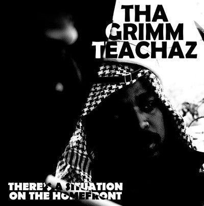 Tha Grimm Teachaz - There's A Situation On The Homefront [CD]-Chopped Herring Records-Dig Around Records
