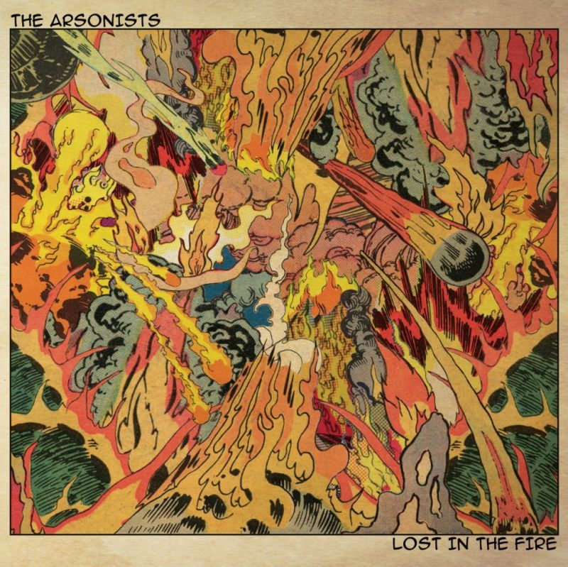 "The Arsonists - Lost In The Fire 90's [Black] [Vinyl Record / 12""]-Chopped Herring Records-Dig Around Records"