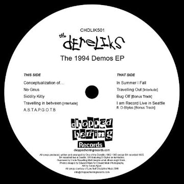 "The Dereliks - The 1994 Demos [Black] [Vinyl Record / 12""]"