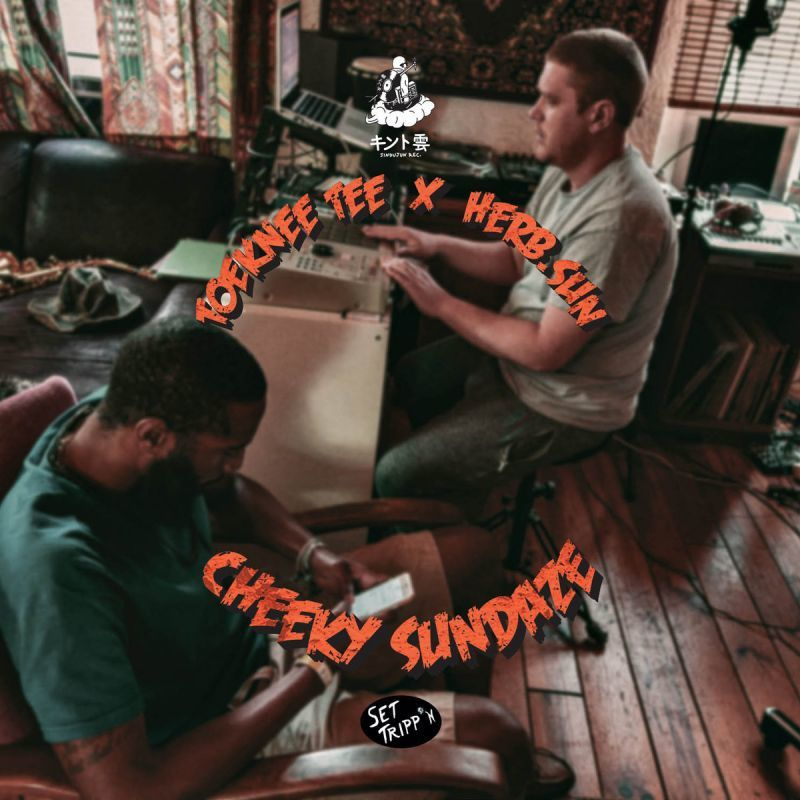 Toeknee Tee x herb.sun - Cheeky Sundaze [CD]-JINDUJUN RECORDS-Dig Around Records